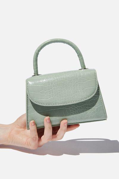 Lola Cross Body Bag, SAGE TEXTURE