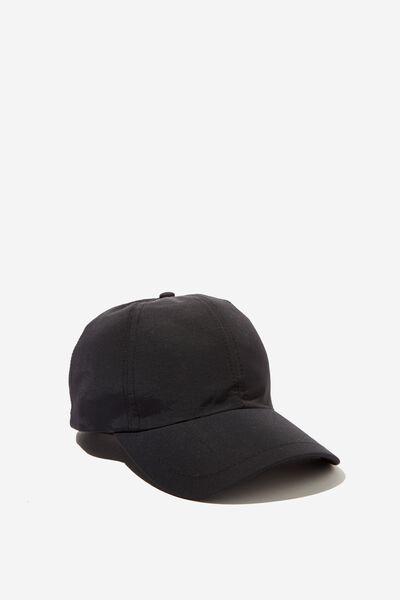 Elastic Back Cap, BLACK
