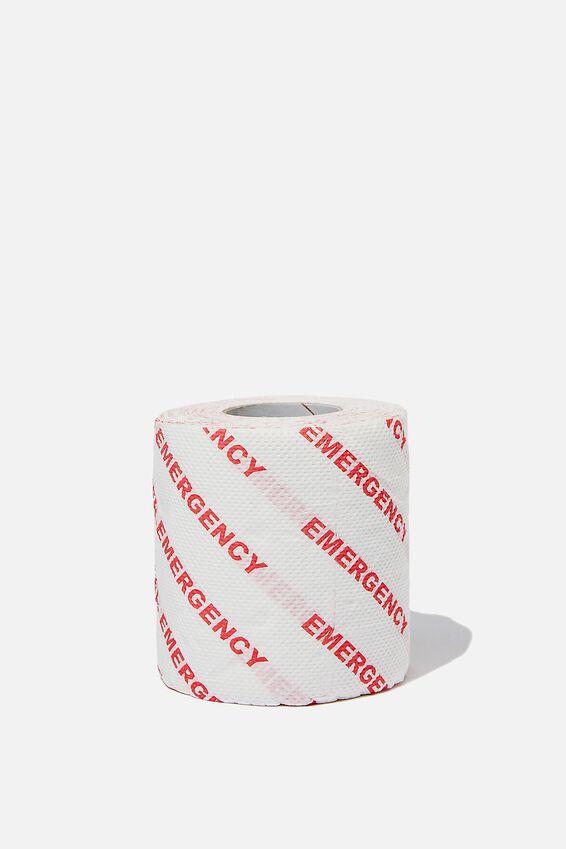 Novelty Toilet Paper, EMERGENCY