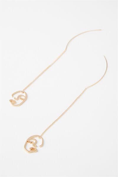 Pimlico Earring, GOLD