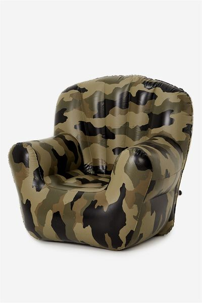 Prop Me Up Inflatable Chair, CAMO