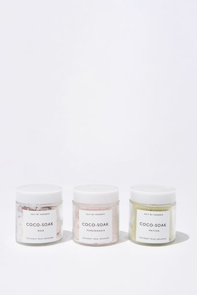 Salt By Hendrix Gift Set Coco Soak, COCO SOAK