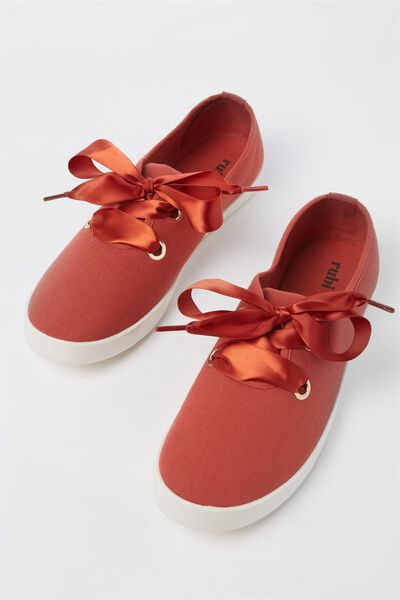 Indy Bow Plimsoll, RUST
