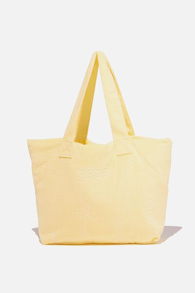 Hello Sunshine Tote, LEMON