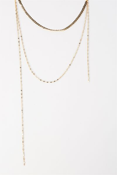 Sanfransico Necklace, GOLD