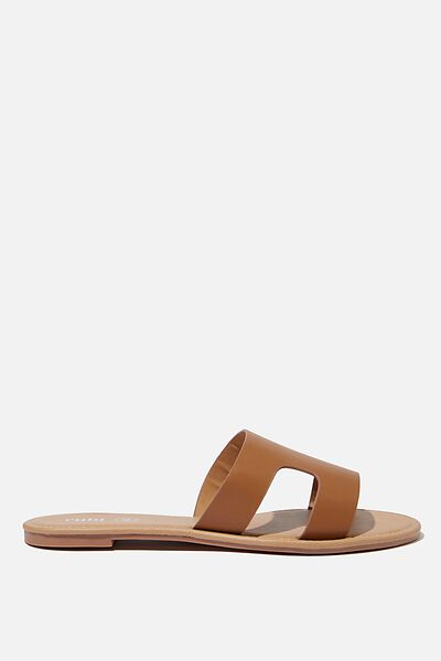 Everyday Cypress Slide, TAN PU
