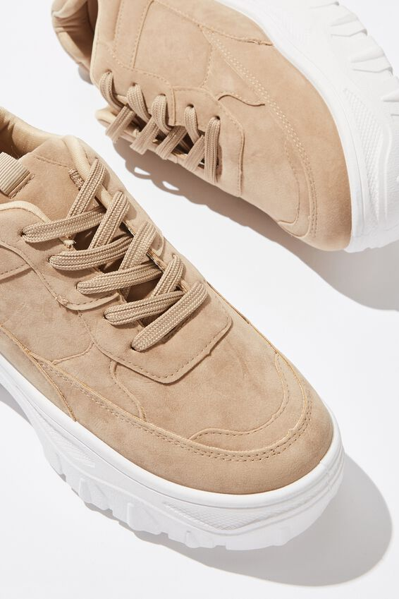 Darcey Extra Chunky Sneaker, TAUPE