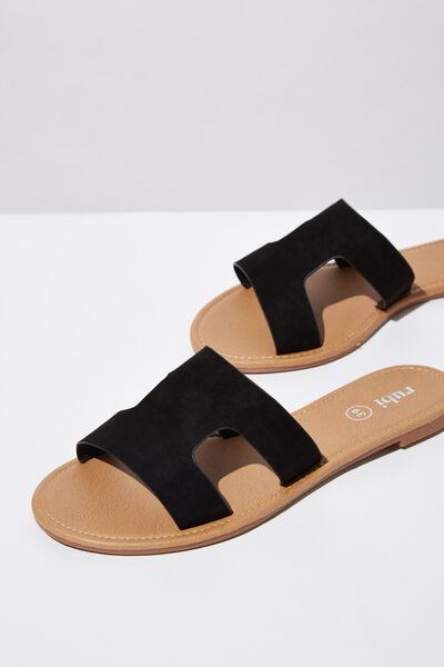 Everyday Cypress Slide, BLACK