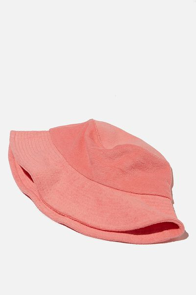 Bianca Bucket Hat, FAIRY FLOSS TERRY