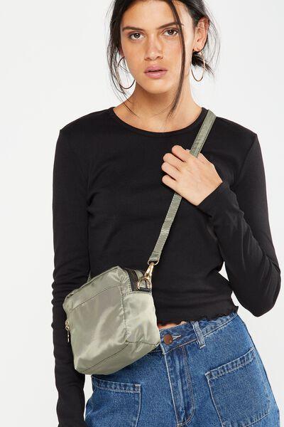 Cora Cross Body Bag, KHAKI