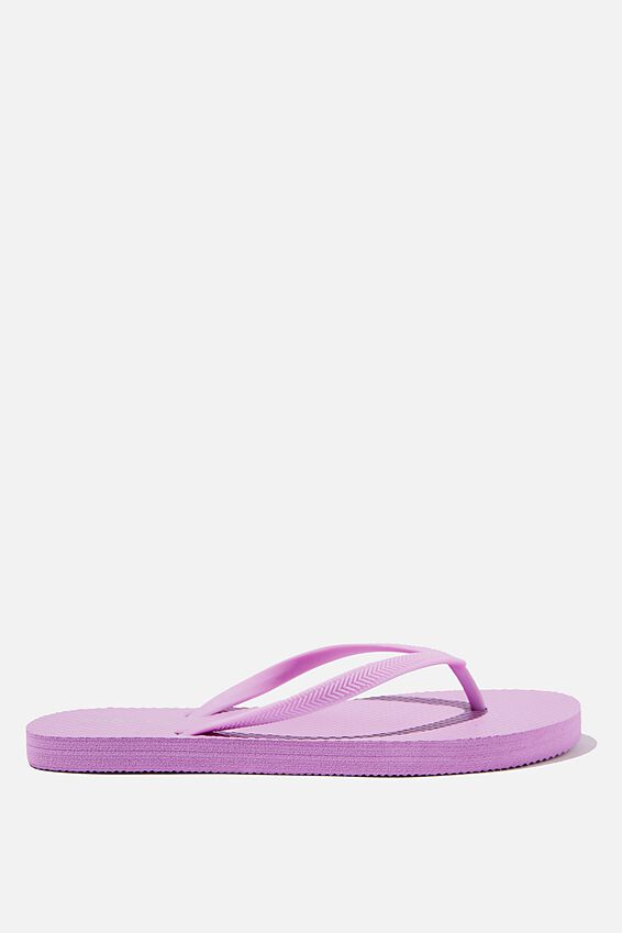 The Rubi Flip Flop, LIGHT LILAC