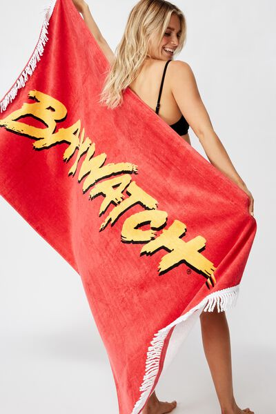 Bondi Rectangle Towel, LCN BAYWATCH