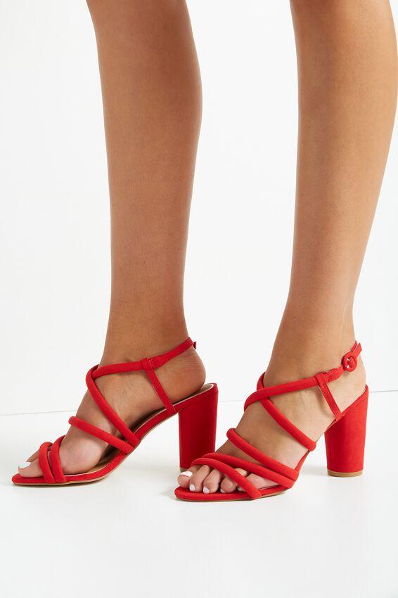 Sangria Heel, RED