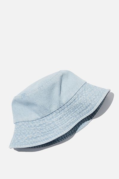 Bianca Bucket Hat, DENIM