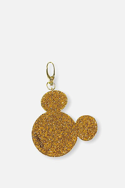 Mickey Key Ring, ROSE GOLD