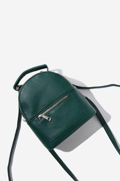 Cara Mini Backpack, LUSH GREEN PEBBLE