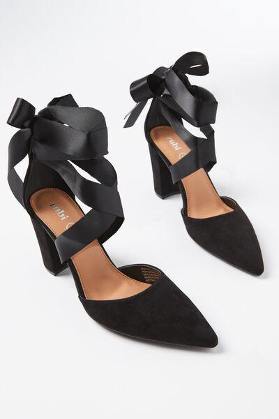 San Antonio Heel, BLACK
