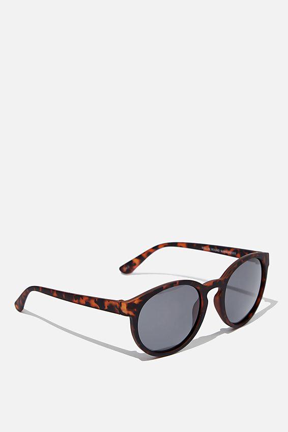 Rollin Round Sunglasses, MATTE TORT