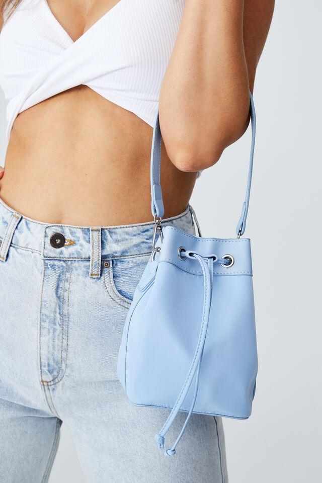 Mini Bucket Bag, AUTHENTIC BLUE