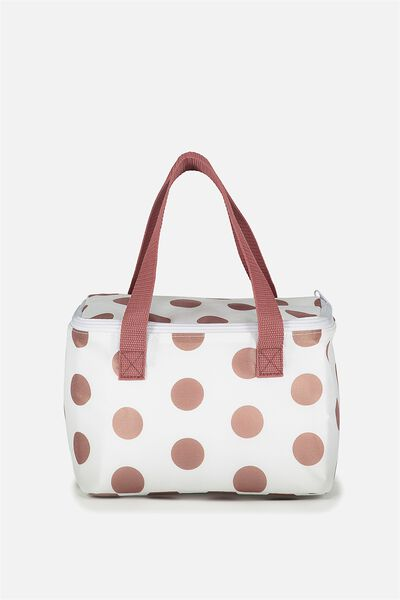 Chill Out Cool Bag, LARGE POLKA