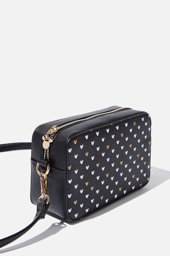 Stevie Boxy Cross Body Bag, LCN MICKEY BLACK