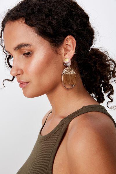 Danica Animal Earring, LEOPARD