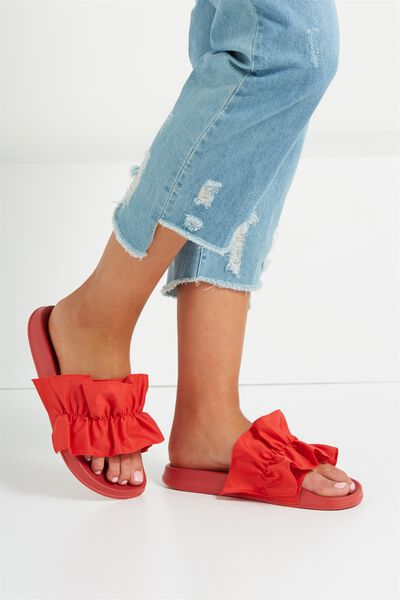 Wild Slide, RED RUFFLE