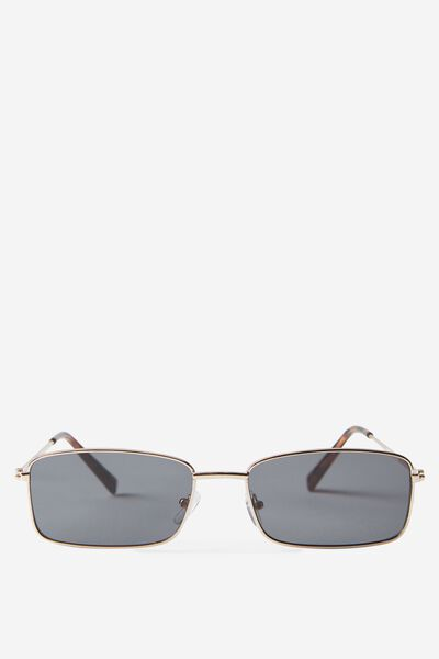 Lenny Sunglass, BLACK/GOLD