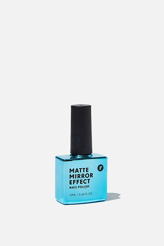 Metallic Mirror Finish Nail Polish, BLUE