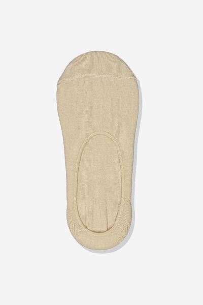 Sneaker Low Cut Sock, NUDE