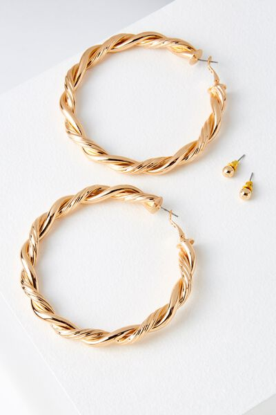 Majorca Earring, GOLD
