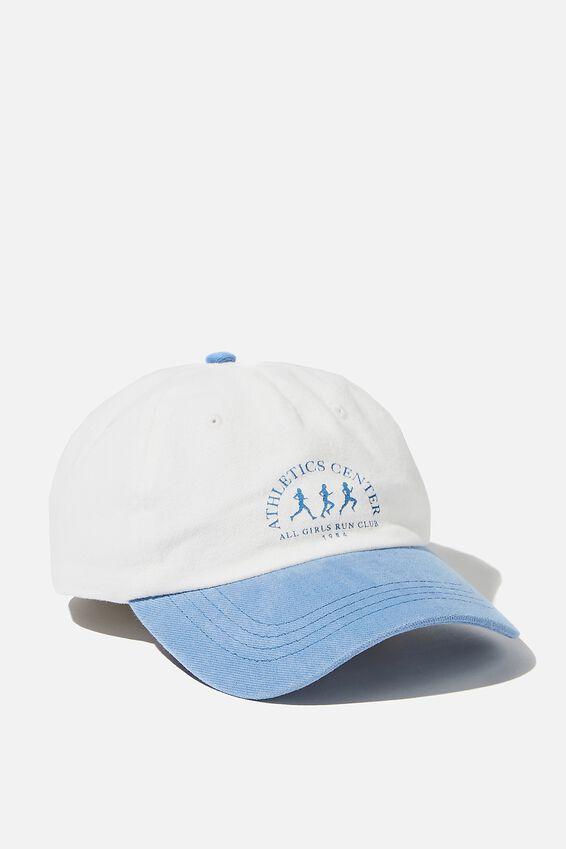 Classic Dad Cap, BLUE/ATHLETICS CENTRE