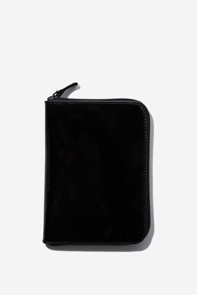 Travel Jewellery Wallet, BLACK