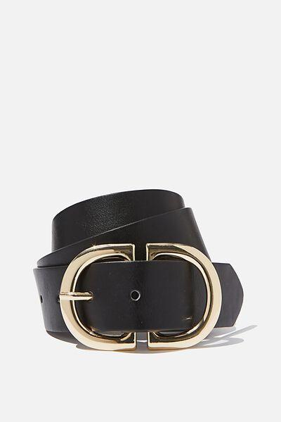 Dd Buckle Belt, BLACK