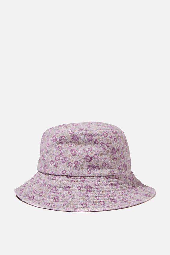 Bianca Bucket Hat, MAGENTA ELSIE FLORAL