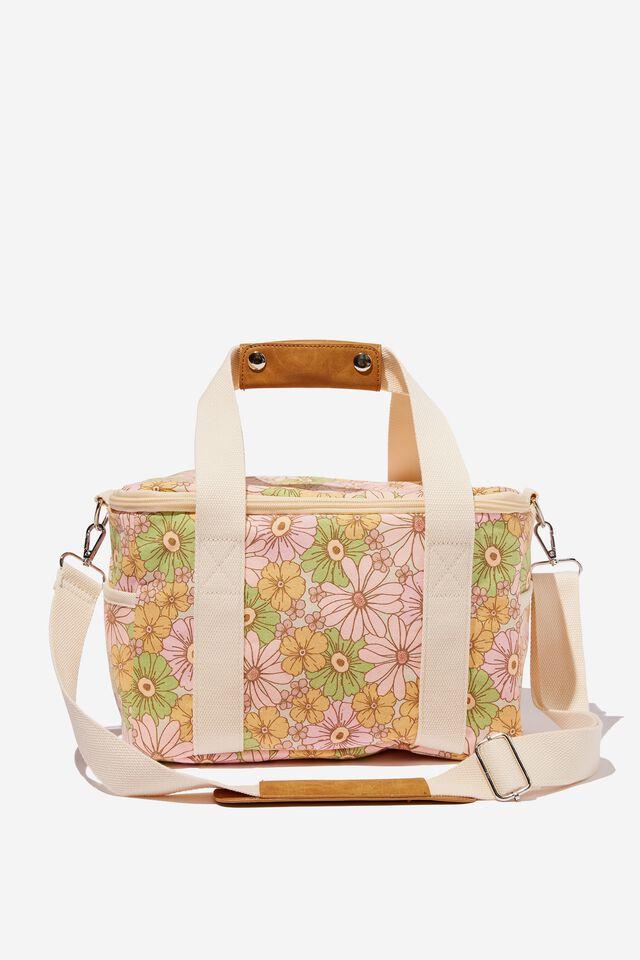 Cooler Bag, ARI RETRO BLOOM WHITE