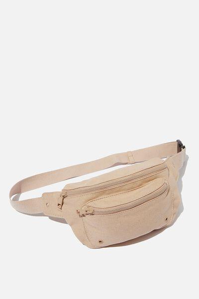 Brazen Belt Bag, BLUSH WASH CANVAS