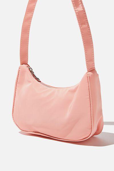 Nylon Underarm Bag, CANDY