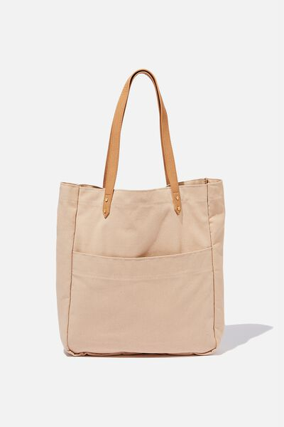Olive Carryall Tote Bag, BLUSH