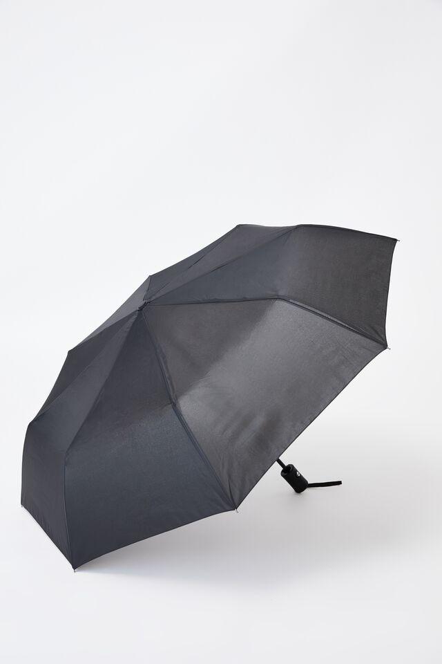 Compact Umbrella, BLACK