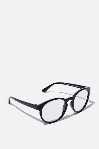 Rollin Blue Light Blocking Glasses, BLACK