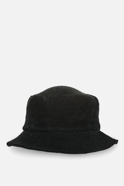 Bella Bucket Hat, BLACK CORD