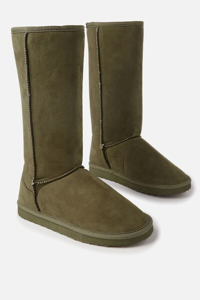 Tall Home Boot, KHAKI