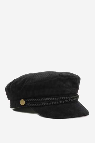 Billie Baker Boy, BLACK CORD WITH TRIM