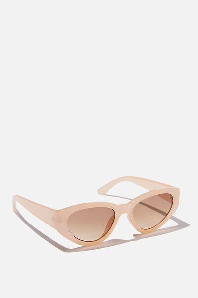 Taylor Cateye Sunglasses, BUTTERMILK