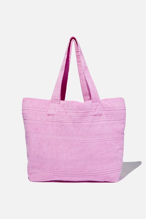 Hello Sunshine Tote, FROSTY LILAC
