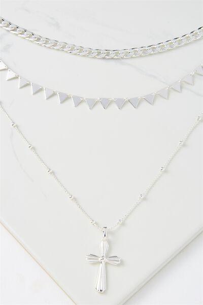 Miami Necklace, SILVER