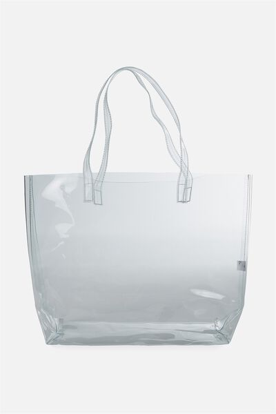 Crystal Clear Tote, CLEAR