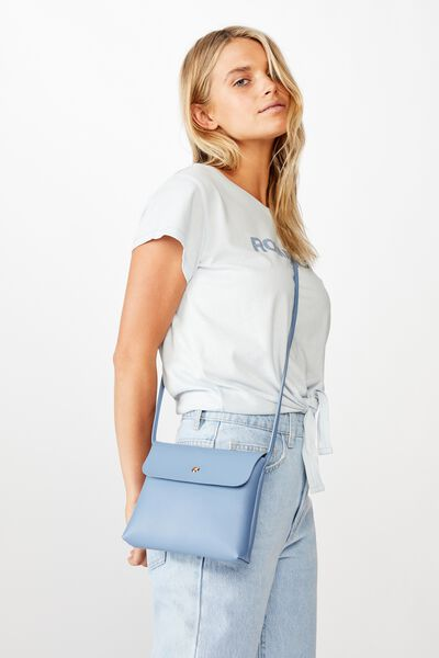 Felicity Cross Body Bag, BLUE