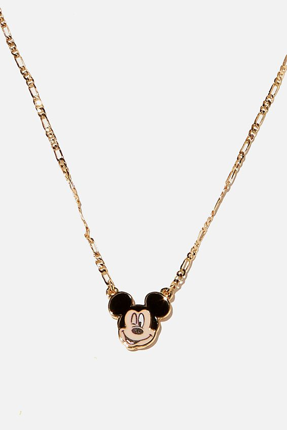 Brighter Days Pendant Necklace, LC MICKEY ENAMEL